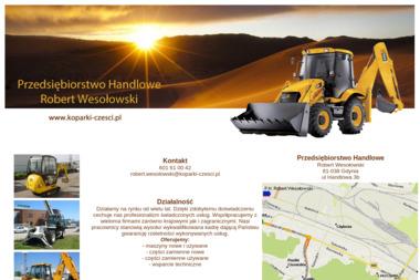 Przedsiębiorstwo Handlowe Robert Wesołowski - Koparko-ładowarki Gdynia