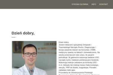Indywidualna Praktyka Lekarska Krystian Radosz - Ortopeda Płock