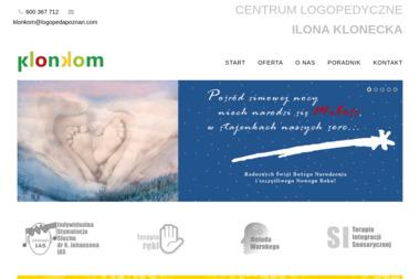 Centrum Logopedyczne Klonkom - Logopeda Poznań