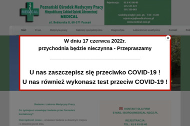 Medical - Medycyna pracy Poznań