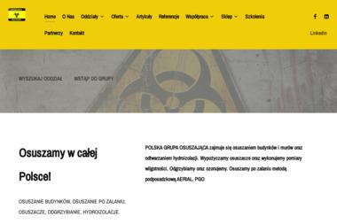 Areko Artur Ostrowicki - Osuszanie Tynków Kleszczewo