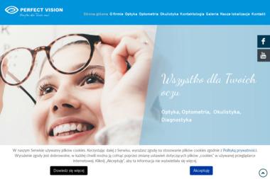 """Zakład Optyczny """"Perfect Vision"""" - Okulista Kutno"""