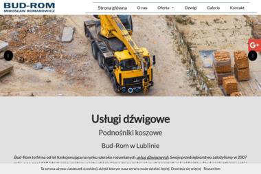Dźwigi Lublin, Usługi dźwigowe Bud -Rom - Konstrukcje stalowe Lublin