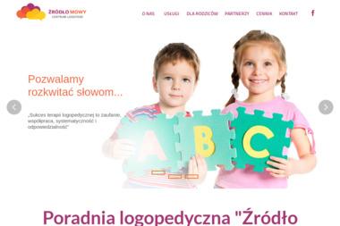 Źródło Mowy - Centrum Logopedii - Logopeda Poznań