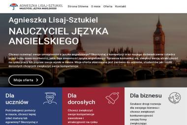 PERSONAL ENGLISH TRAINER Agnieszka Lisaj-Sztukiel - Nauczyciele angielskiego Szczecinek