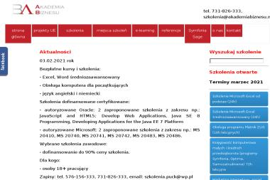 Akademia Biznesu - Szkolenia Puck