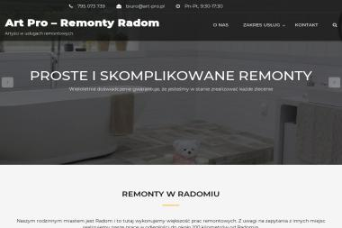 Art Pro – Remonty - Kominki Kaflowe Radom