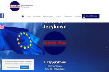 Centrum Językowe British Plus - Nauczyciel Angielskiego Suwałki