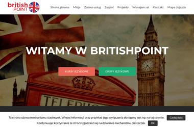 Szkoła językowa britishPOINT - Lekcje Angielskiego Ciechanów
