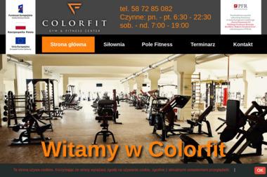 ColorFit Gym & Fitness Center - Trener personalny Tczew