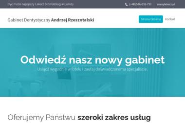 Indywidualna Praktyka Stomatologiczna Andrzej Rzeszotalski - Dentysta Łomża