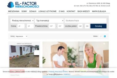 El-Factor Nieruchomości - Agencja nieruchomości Elbląg