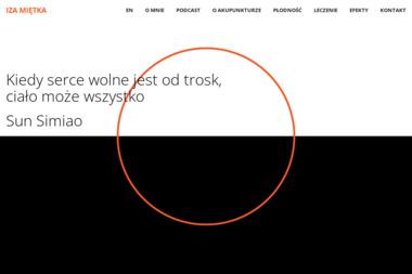 Akupunktura Iza Miętka - Medycyna Niekonwencjonalna Warszawa