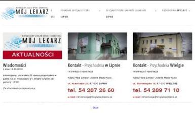"""NZOZ """"Mój Lekarz"""" - Medycyna pracy Lipno"""