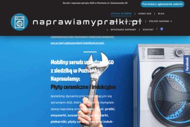 NAPRAWIAMY PRALKI - Naprawa piekarników i kuchenek Poznań