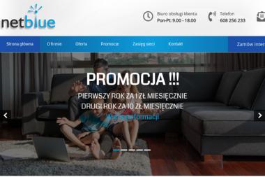NetBlue - Dostawcy internetu, usługi telekomunikacyjne Zduńska Wola