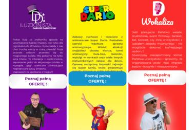 SUPER DARIO - Animatorzy dla dzieci Kołobrzeg