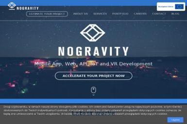 Nogravity - Systemy CMS Kraków
