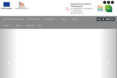 Olsztyński Park Naukowo - Technologiczny - Biuro Wirtualne Olsztyn