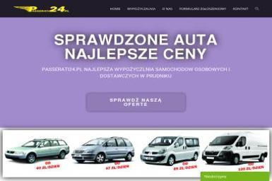 PASSERATI24 - Wypożyczalnia samochodów Prudnik