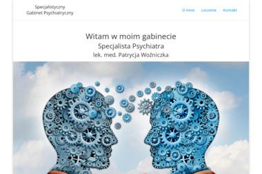 Specjalistyczny Gabinet Psychiatryczny  lek. med. Patrycja Woźniczka - Terapia uzależnień Oława