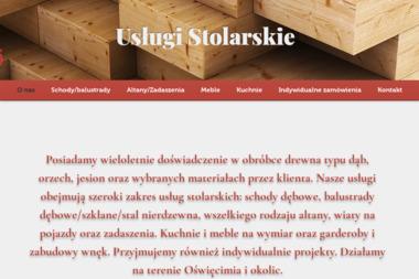 Usługi Stolarskie Józef Szostek - Schody Modułowe Bobrek