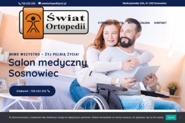 Świat Ortopedii - salon medyczny - Sprzęt rehabilitacyjny Sosnowiec