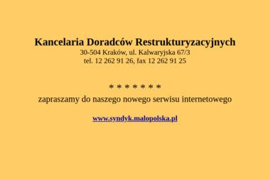 KANCELARIA DORADCÓW RESTRUKTURYZACYJNYCH - Firma Konsultingowa Kraków