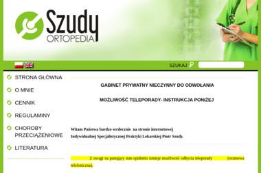 Indywidualna Specjalistyczna Praktyka Lekarska Piotr Szudy - Ortopeda Toruń