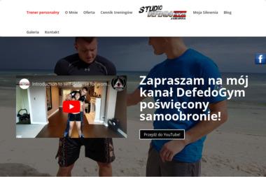 Trener Personalny Michał Dudkowski - Sporty walki, treningi Legionowo