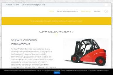 PHU Widlak-Service - Sprzedaż Wózków Widłowych Lubań