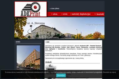 ADKPRINT - Serwis sprzętu biurowego Wrocław