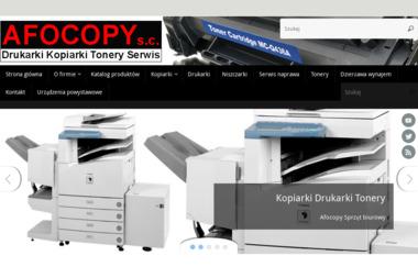 Afocopy - Serwis sprzętu biurowego Zakręt
