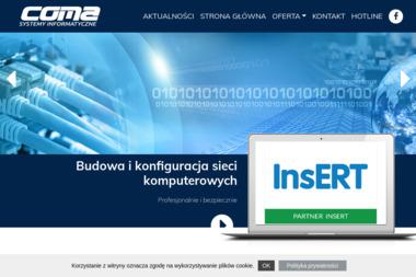 FIRMA KOMPUTEROWA COMA - Naprawa komputerów Ciechanów