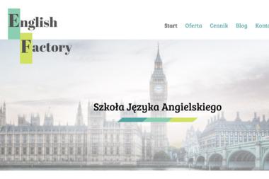 Szkoła Języka Angielskiego English Factory - Szkoła językowa Słupsk