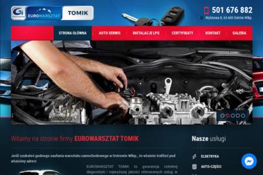 EUROWARSZTAT TOMIK - Serwis LPG Ostrów Wielkopolski