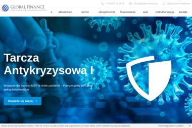 Kancelaria Doradztwa Finansowego GLOBAL FINANCE Marek Dymus - Kredyt gotówkowy Częstochowa