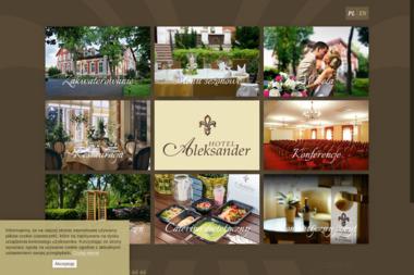 HOTEL ALEKSANDER - Lokale gastronomiczne W艂oc艂awek