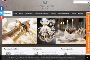 Hotel Feniks - Lokale gastronomiczne Gniezno