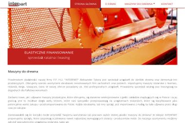 Interpart - Dla przemysłu drzewnego Miastko