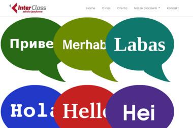 Szkoła Językowa InterClass - Nauczyciel Angielskiego Ciechanów
