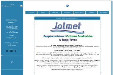 HSE JOLMET - Szkolenia BHP Ligota