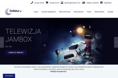 Internet i Telewizja Księżyc - Dostawcy internetu, usługi telekomunikacyjne Zduńska Wola