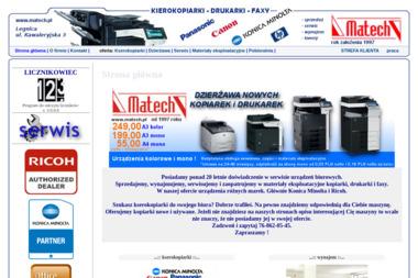 MATECH - Serwis sprzętu biurowego Legnica