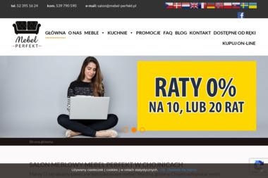 """Salon Meblowy """"Mebel Perfekt"""" - Balustrady drewniane Chojnice"""