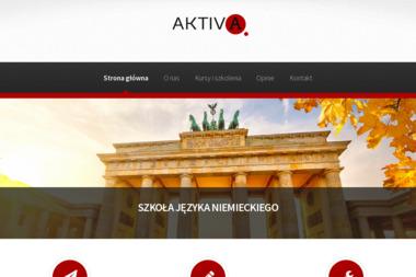 Szkoła Języka Niemieckiego AKTIV A - Szkoła Językowa Grudziądz