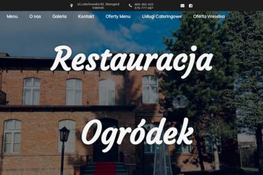 Restauracja Ogródek - Us艂ugi Kulinarne Starogard Gda艅ski