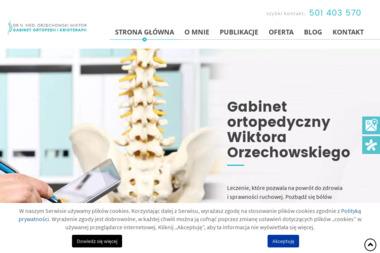 Gabinet Ortopedii i Krioterapii - Orzechowski Wiktor - Ortopeda Wrocław