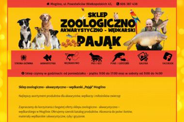 """Sklep zoologiczny """"Pająk"""" - Zoologiczne Mogilno"""