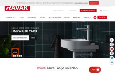 Ravak - Meble do łazienki i toalety Grodzisk Mazowiecki